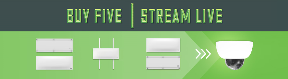 Buy Five, Stream Live Banner